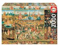 El jardin de las delicias puzzle 2000 piezas Educa 18505