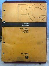 John Deere 480C Forklift Parts Catalog PC-1846