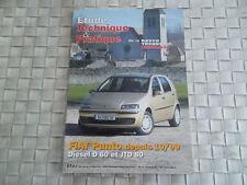 REVUE TECHNIQUE FIAT PUNTO DIESEL D 60 et JTD 80 Depuis 10/99