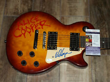 Alice Cooper Signed Guitar JSA COA AUTOGRAPHED ELECTRIC NICE