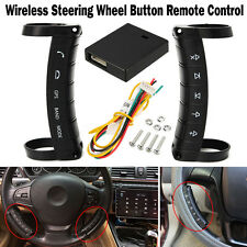 UNIVERSAL WIRELESS STEERING WHEEL BUTTON CONTROL REMOTE FOR CAR STEREO DVD GPS