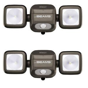 Mr Beams MBN3002br Motion Sensor Battery NetBright High Performance Spotlight
