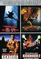 Black Mask & Bloodsport 4 & Kickboxer 1 & 2 [New DVD]