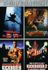 Black Mask & Bloodsport 4 & Kickboxer 1 & 2 [New DVD]