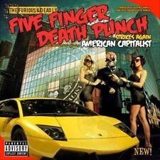 FIVE FINGER DEATH PUNCH - AMERICAN CAPITALIST CD ~ IVAN MOODY *NEW*