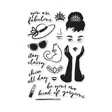 "Brand New Hero Arts ""You Are Fabulous"" Photopolymer Poly Clear Stamps"