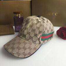 NWT---Gucci Men's brown hats Baseball cap size medium M