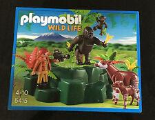 Playmobil Wild Life 5415 Gorillas Okapis Ages 4+ Toy Boys Girls Play Jungle Gift