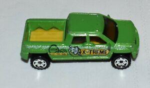 2001 Matchbox Green GMC Terradyne X-treme, 1:77 scale, Made in China
