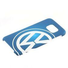 COQUE DE PROTECTION RIGIDE BLEU POUR SAMSUNG GALAXY S6 AVEC LOGO VW ( S