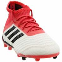 adidas Predator 18.1 Firm Ground  -  Kids Boys Soccer Cleats     - Red