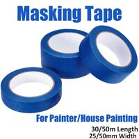 Blue Painter Masking Tape Paper Adhesive House Painting Peel Tape Easy To Tear.!