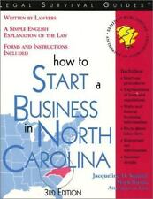 How to Start a Business in North Carolina (Start a Business in North Carolina or
