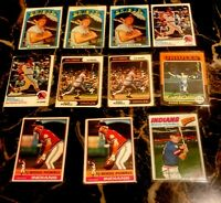 1972-1977 TOPPS BOOG POWELL Orioles / Indians (11) Card Lot