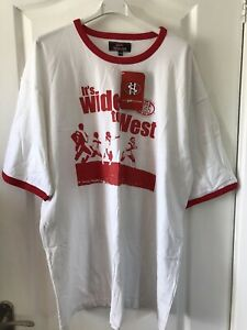 ST HELENS RUGBY LEAGUE T-SHIRT It's Wide To West BNWT 3XL