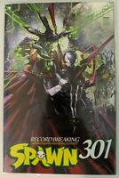 SPAWN #301E Record Breaking - Clayton Crain Variant - Todd McFarlane - New Movie