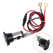 Universal 120W 12V Car Boat Tractor Cigarette Lighter Power Socket Outlet Plug