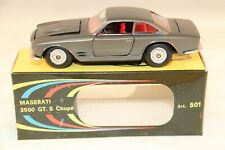 Politoys - M 501 Maserati 3500 GT.S Coupe perfect mint in box SUPERB