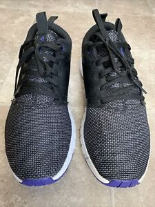 Reebok CN5928 Print Athlux Shatter Black Athletic Sneakers Women's Size 8.5