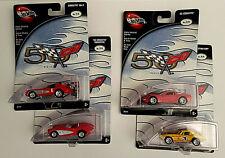 100% HOT WHEELS -Corvette 50TH ANNIVERSARY Series Complete Set (4)- VHTF RARE