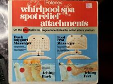 Pollenex Whirlpool Spa Spot Relief Attachments Back & Foot Wbsa3 New In Box Nrfb