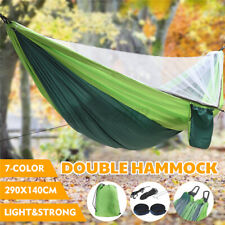 290*140cm Camping Hammock 2 Person Mosquito Net Hammock Withstand 300KG