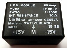 Lem Module 80 Amp LT 80-P LT80-P Swiss made Current Transducer Sensor 80A
