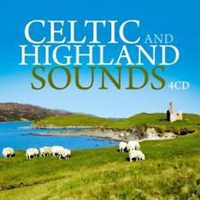 Celtic And Highland Sounds - Various Artists (4CDs) neu