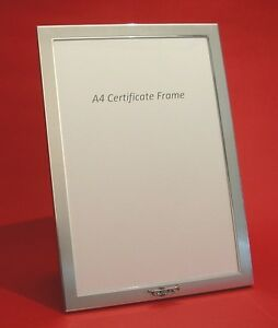 A4 Certificate Picture Frame Trumpet Music Design School Diploma Award NEW