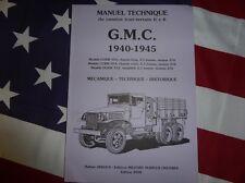 Manuel technique GMC CCKW 353 / 352 DUKW 1940.1945 TRUCK TECHNICAL MANUAL ARBOUX