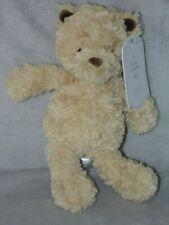 MOTHERCARE TIMMY THE TEDDY SOFT TOY CREAM BROWN COMFORTER DOUDOU