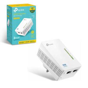 TP-Link TL-WPA4220 Powerline Adapter 2-Port Add-On WiFi Hotspot Range Extender