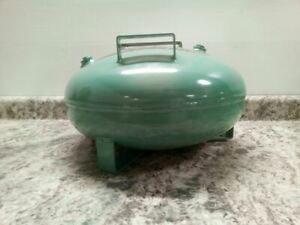 Speedaire 2TWC4 5 Gal 125 PSI Green Metallic Steel Non Coded Air Tank