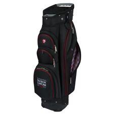 NEW Team Effort Golf Ohio State University Buckeye Tartan Cart Bag 14-way Top