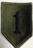 US Army Vietnam Era 1st Infantry Division Patch Subdued #28
