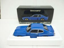 180748000 MINICHAMPS FORD CAPRI RS 3100 BLUE METALLIC 1:18 IN BOX