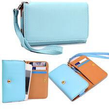 Universal Wallet Cover Case Clutch Style for Alcatel, Blackberry, Celkon