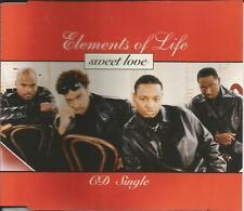 E.O.L. ELEMENTS OF LIFE Sweet Love 3TRX INSTRUMENTAL & OUTRO USA CD single EOL