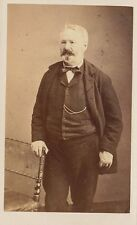 Victor HUGO Photographie carte de visite. Cdv par Etienne Carjat. Photo XIXe