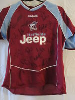 Scunthorpe 2006-2007 Squad Signed Home Football Shirt with our COA