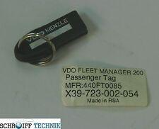 Fleet Manager Key Passagierschlüssel Art.-Nr. X39 723 002 054