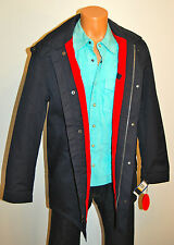 New $198 Nautica Coat Jacket Small Blue Rain Winter Pea S