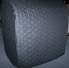 Black Double Quilted Fabric Cover for Bosch Compact Mixer - New