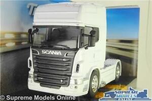 SCANIA R730 MODEL TRUCK LORRY CAB UNIT WHITE LARGE 1:32 SCALE WAGON 4X4 WELLY K8
