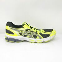 Asics Mens Gel Exalt 2 T4C1N Black Yellow Running Shoes Lace Up Size 11.5