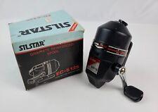 New old stock Silstar EC5-125 Spincast Fishing Reel working 2.8:1