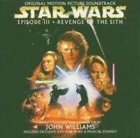 JOHN WILLIAMS - STAR WARS EPISODE III OST CD NEU!!!!!!!