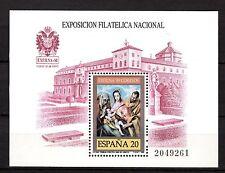 Spain - 1989 Stamp exhibition Exfilna - Mi. Bl. 34 MNH