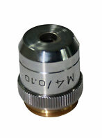 M 4x Metallurgical Metallograph Microscope Objective