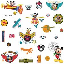 Roommates Mickey Mouse & Friends Clubhouse Pilot Peel & Stick Wall Decals New In